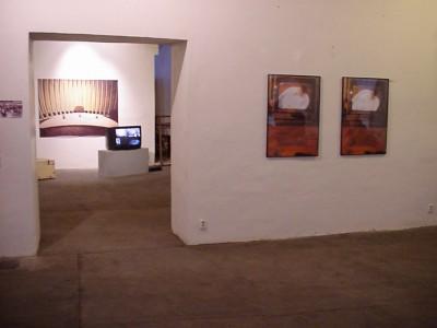 Installation view, gallery NoD
