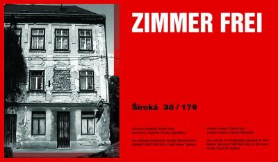 Zimmer Frei Široká, Cprint, 120 x 70 cm, 2002