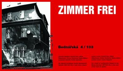 Zimmer Frei Bednářská, Cprint, 120 x 70 cm, 2002