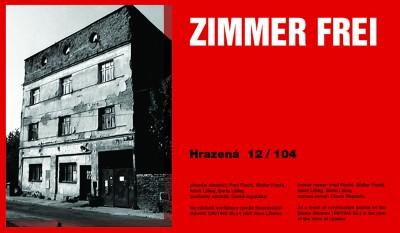Zimmer Frei Hrazená, Cprint, 120 x 70 cm, 20