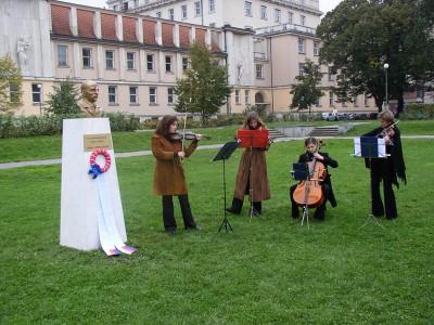 Faithfull We Shall Remain, event documentation, Prague, 2002
