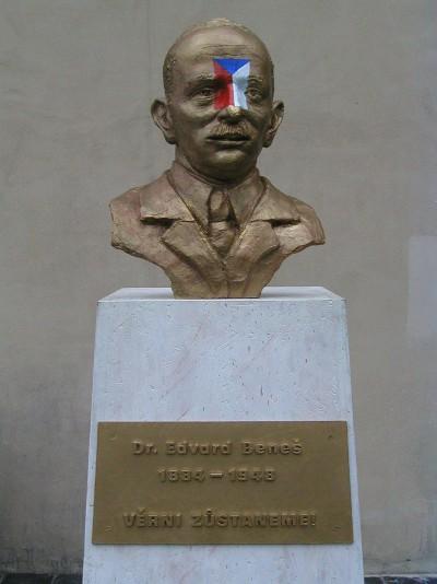 Faithfull We Shall Remain, Pode Bal's version of Benes memorial, wood, plaster, mixed media