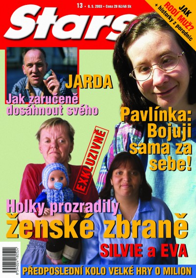 Magazine Stars, Cover, Cprint, 2003