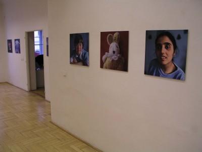 Installation view, Gallery Šternberk, 2003