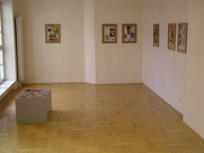 Installation view, Gallery Šternberk, 2003