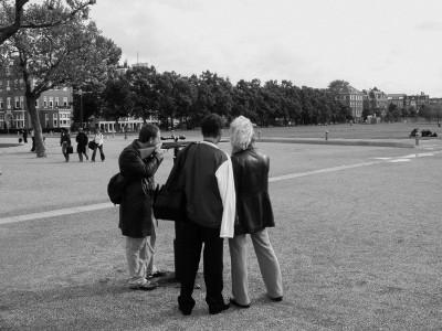 Public space installation view, Amsterdam, 2003