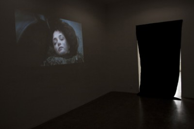 Death S01E01, Video loop, Installation view,2010