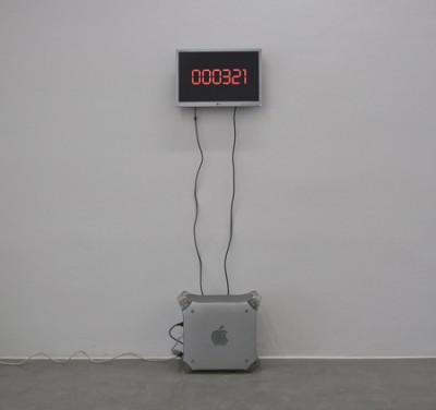 Death Counter, mixed media,2010