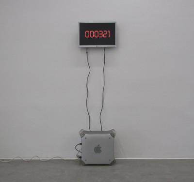 Death Counter, mixed media,2010